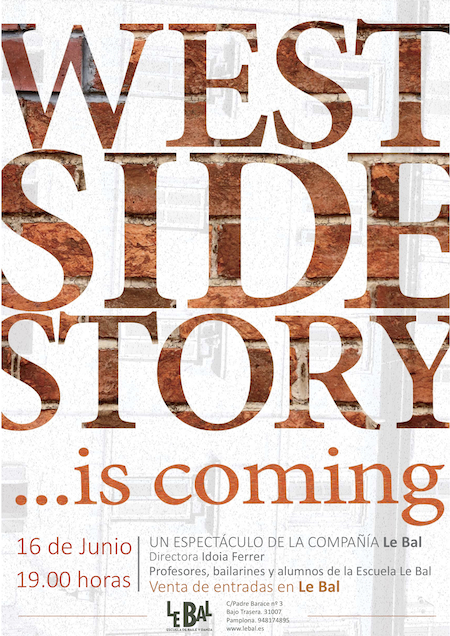 West Side Story...is coming Compañía Le Bal